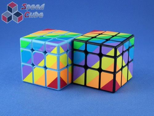 MoYu YJ Unequal / Inequilateral 3x3x3 Blue