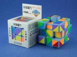 YongJun Unequal / Inequilateral 3x3x3 Blue