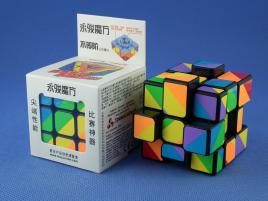 YongJun Unequal / Inequilateral 3x3x3 Black