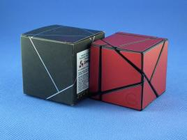 Funs Lim Ghost Cube 2x2 Black Body Red Stickers