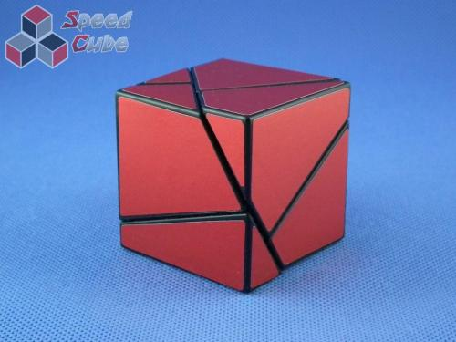 Funs Lim Ghost Cube 2x2x2 Black Body Red Stickers