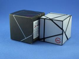 Funs Lim Ghost Cube 2x2 Black Body Silver Stickers