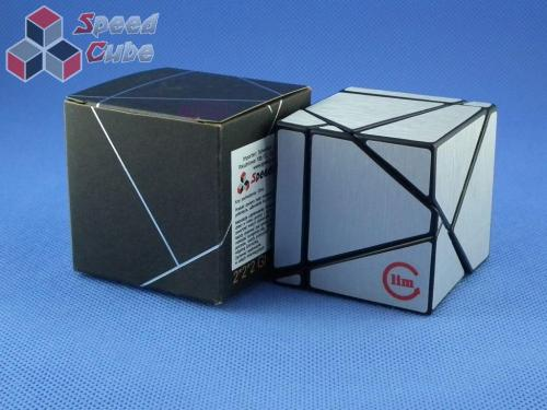 Funs Lim Ghost Cube 2x2x2 Black Body Silver Stickers