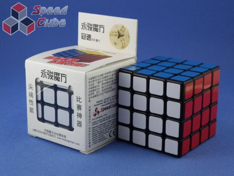 MoYu GuanSu 4x4x4 Czarna