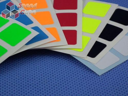 Naklejki 3x3x3 Halczuk Stickers GuanLong Fluo
