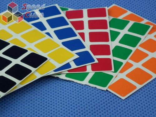 Naklejki 5x5x5 Z-Stickers Normal Black Face