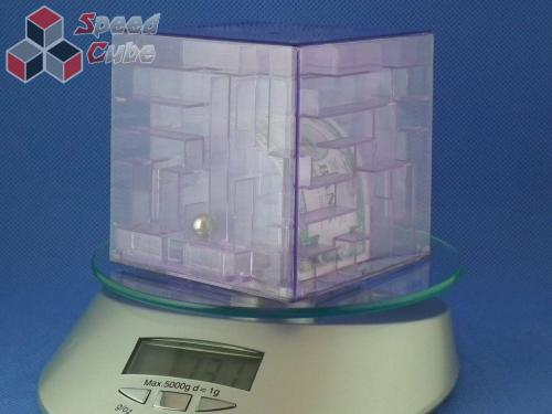 Maze Piggy Bank Box Fioletowa