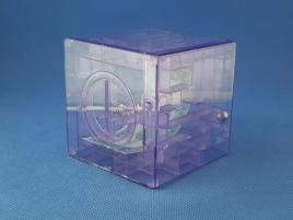 Maze Piggy Bank Box Fioletowa