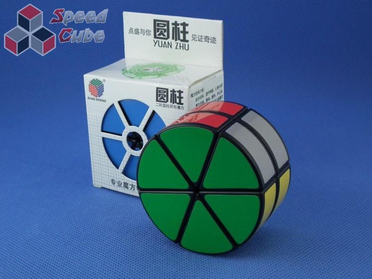 DianSheng 2 Layer Cylinder Czarna