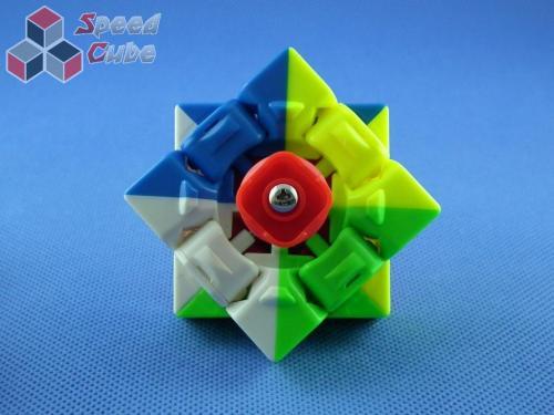QiYi 3x3x3 MoFangGe X-man Tornado Kolorowa