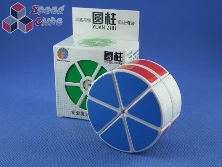 DianSheng 2 Layer Cylinder Biała
