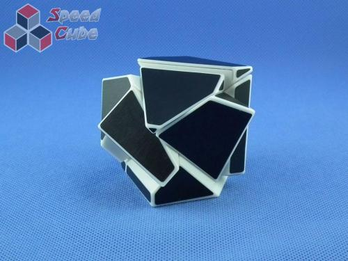 Funs Lim Ghost Cube 2x2x2 White Body Black Stickers