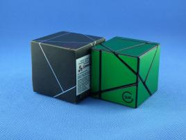Funs Lim Ghost Cube 2x2 Black Body Green Stickers