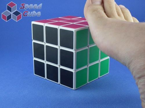 YJ Crazy Foot Cube 3x3x3 Biała