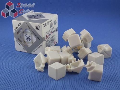 Części DaYan 4 LunHui 3x3x3 Biała
