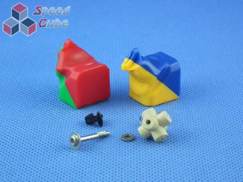 Części DaYan 6 PanShi 3x3x3 Kolorowa