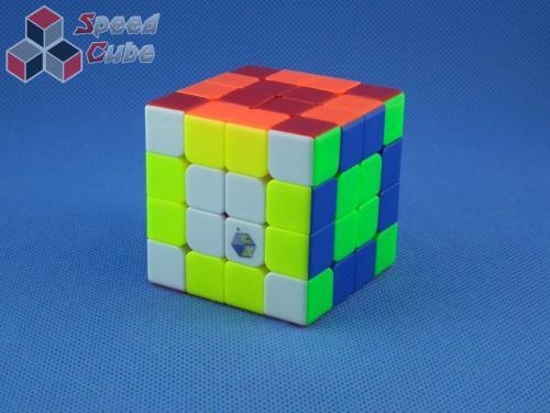 ZhiSheng YuXin 4x4x4 Blue Unicorn Kolorowa