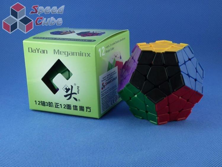 DaYan Megaminx CR Kolorowa Black Face