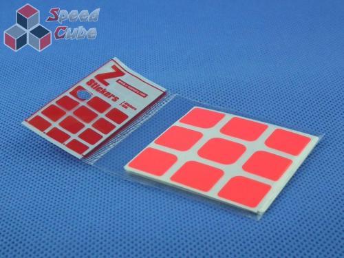 Naklejki 3x3x3 Z-Stickers AoLong GTS Z-Bright