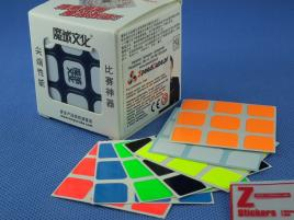 Naklejki 3x3x3 Z-Stickers AoLong Z-Bright