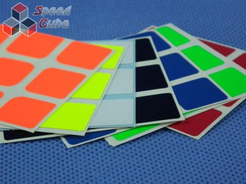 Naklejki 3x3x3 Z-Stickers AoLong Half Bright