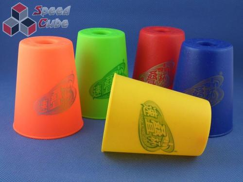 Kubki YuXin Flying Cups V2 Pomarańczowe