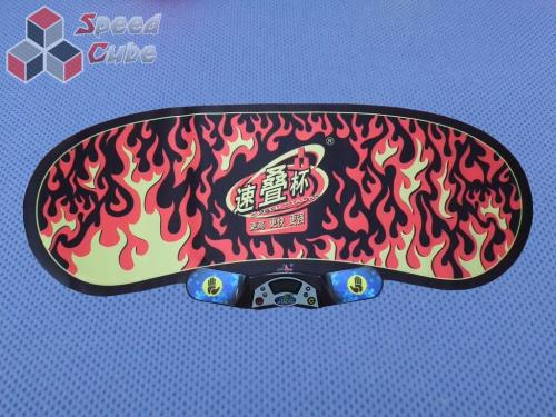 YuXin StackMat - Black Flames