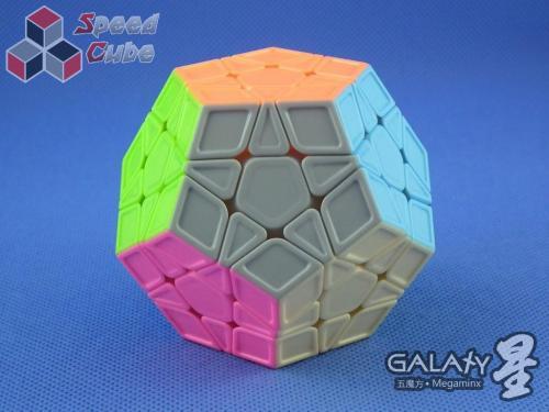 QiYi MoFangGe Megaminx GalaXy Sculpture Kolorowa