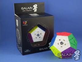 MoFangGe Megaminx GalaXy Sculpture Kolorowa
