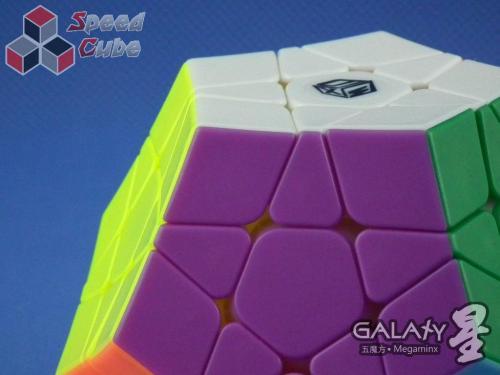 QiYi MoFangGe X-Man Megaminx GalaXy Concave Kolorowa