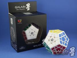 MoFangGe Megaminx GalaXy Concave Biała