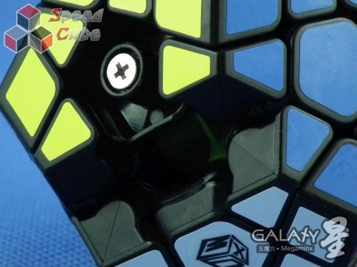 QiYi MoFangGe X-Man Megaminx GalaXy Plane Czarna