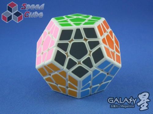 QiYi MoFangGe X-Man Megaminx GalaXy Plane Biała