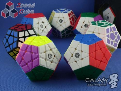 QiYi MoFangGe X-Man Megaminx GalaXy Plane Kolorowa