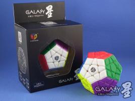 MoFangGe Megaminx GalaXy Convex Kolorowa