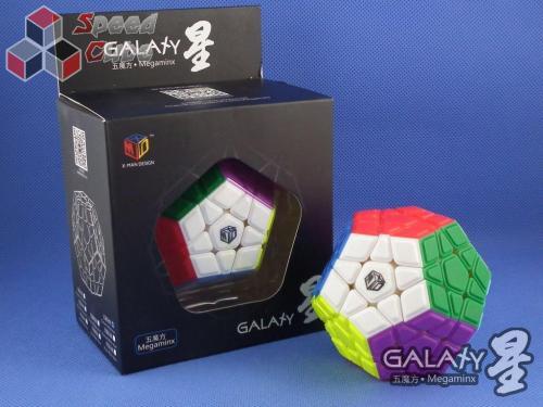 QiYi MoFangGe X-Man Megaminx GalaXy Convex Kolorowa