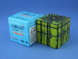 Cube Watermelon Style Mirror 3x3x3 Black