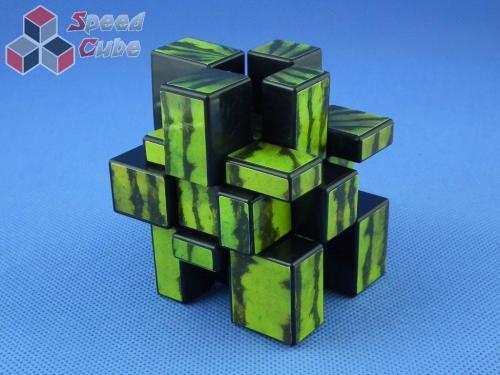 Cube Style Mirror 3x3x3 Black - Watermelon