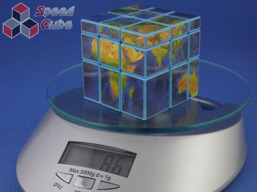 Cube Style Mirror 3x3x3 Blue - GloBus
