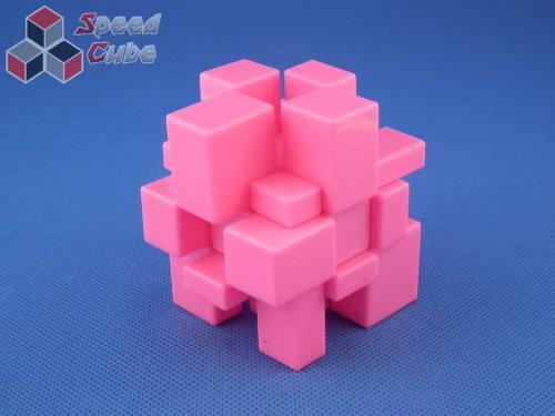 Cube Style Mirror 3x3x3 PiNK