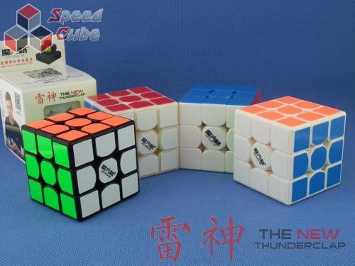 MoFangGe QiYi Thunder Clap v2 3x3x3 Kremowa