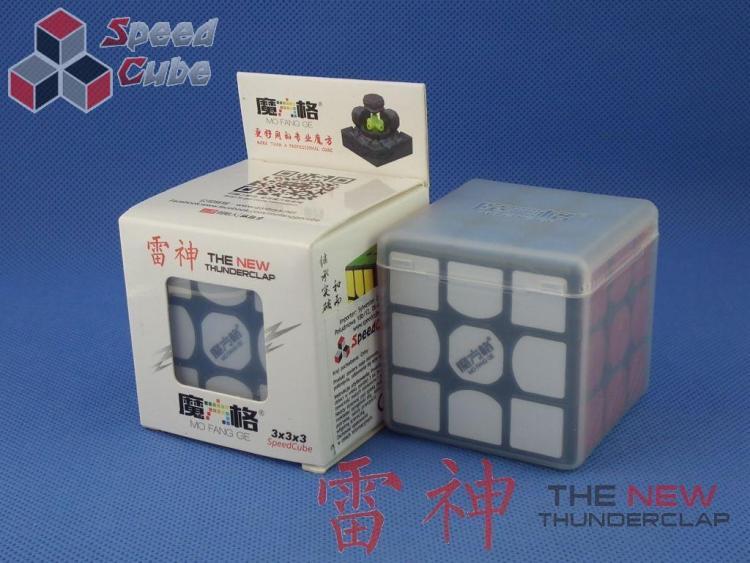 QiYi 3x3x3 MoFangGe New Thunder Clap Czarna