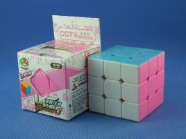 FanXin Lingshuang 3x3x3 Kolorowa PiNK