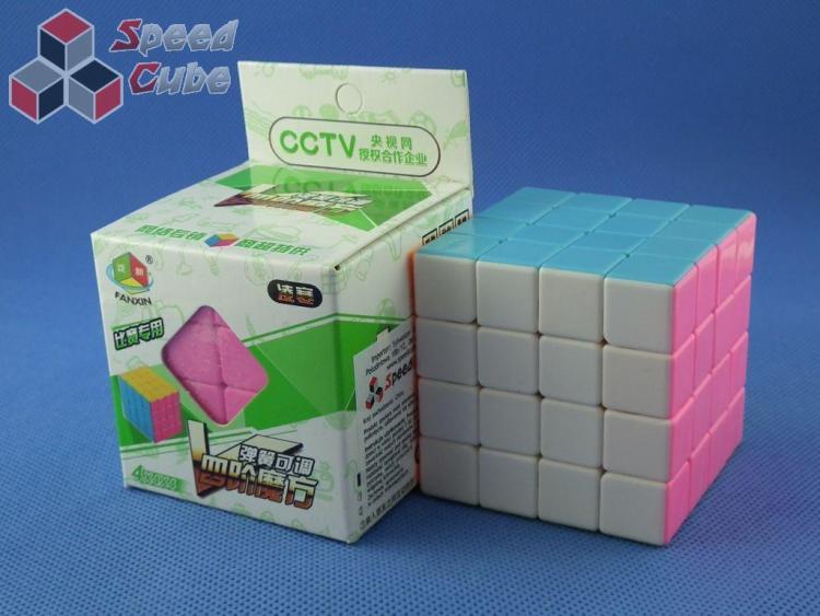 FanXin 4x4x4 Linghan Kolorowa PiNK