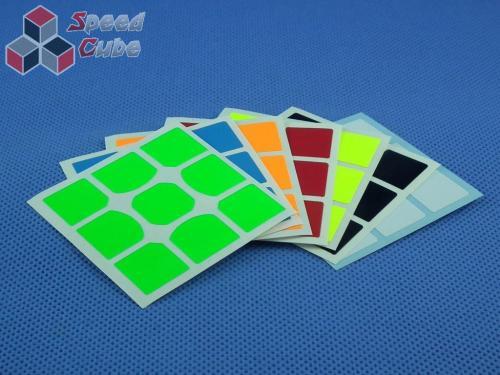 Naklejki 3x3x3 Halczuk Stickers MoFangGe X-man Tornado Fluo