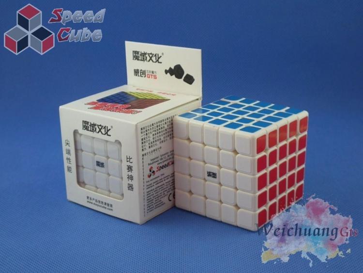 MoYu WeiChuang GTS 5x5x5 Biała