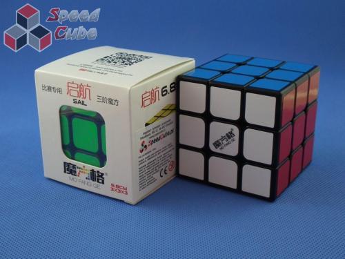 MoFangGe QiYi QiHang 3x3x3 68 mm Czarna