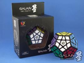 MoFangGe Megaminx GalaXy Concave Czarna