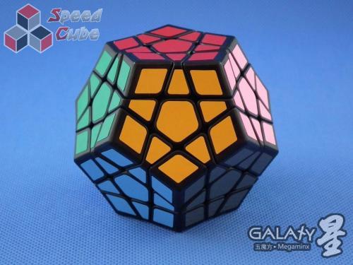 QiYi MoFangGe X-Man Megaminx GalaXy Concave Czarna