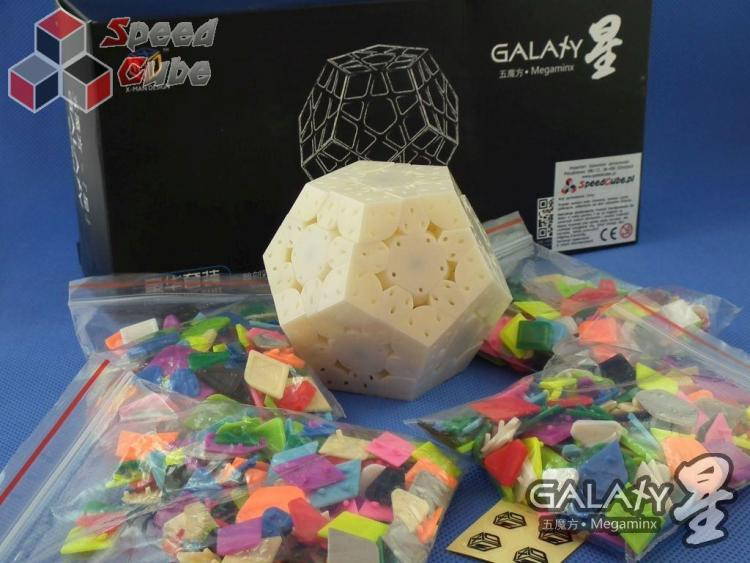 QiYi MoFangGe X-Man Megaminx GalaXy Luxurious set